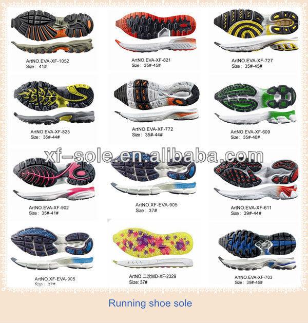 Types Of Running Shoe Design