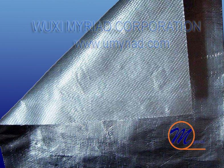 Aluminum Foil Coated Fiber Glass Cloth Aluminium Foil