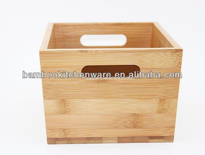 Naturel Boîte De Rangement En Bambou - Buy Boîte De Rangement En ...