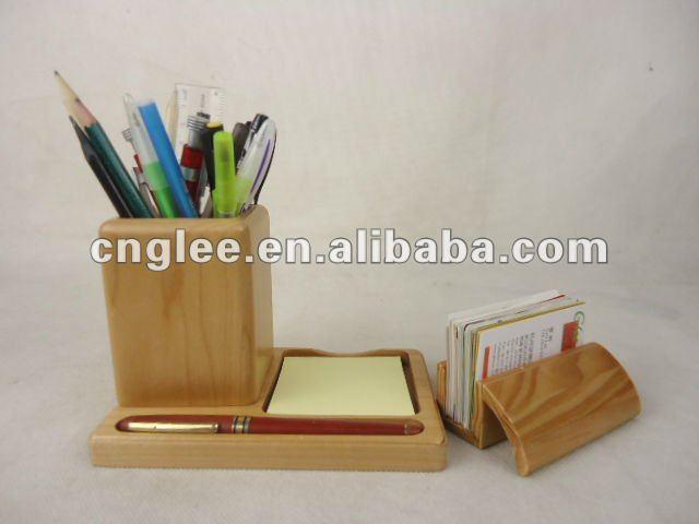 Jolie bois bureau porte stylo buy porte stylo en bois jolie