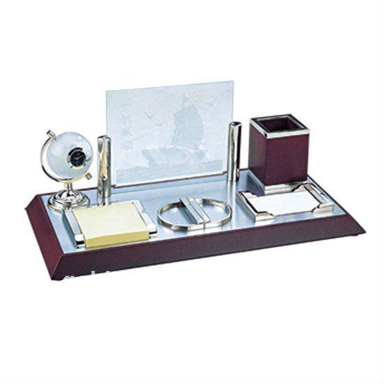 Useful Business Desktop Set Gift For Wooden Promotional Gifts