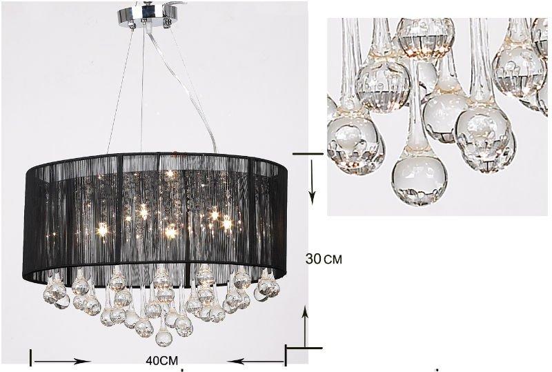 Kronleuchter Mit Lampenschirm ~ 23 jahr fabrik moderne italienische luxus kristall anhänger
