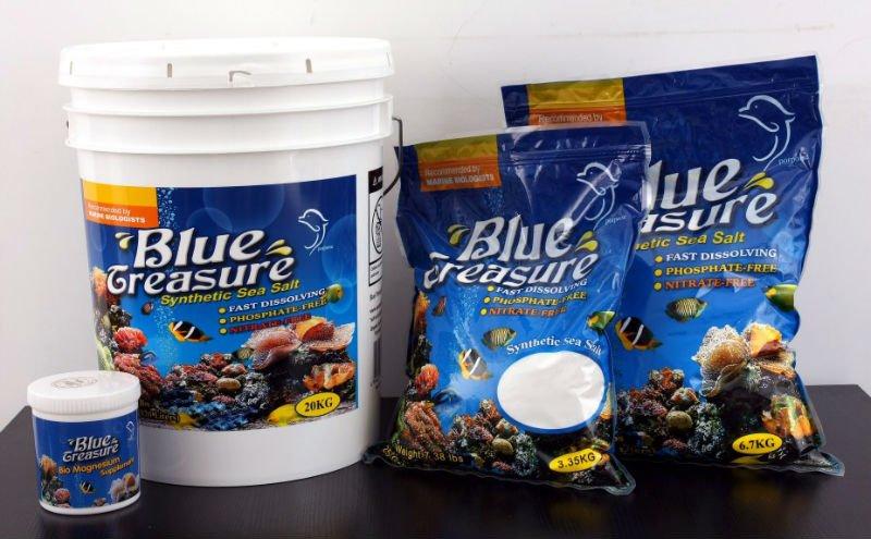 20kg/bucket Tropical Fish Tanks From Blue Treasure Sea Salt ...