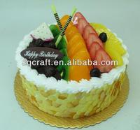 Lifesize Strawberry Shortcake Fake Display Artificial Food Photo ...
