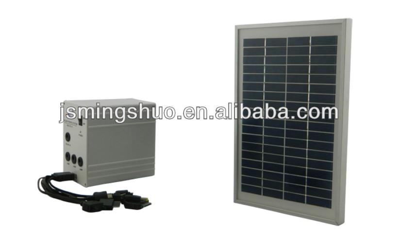 Ingrosso sistema di energia solare la piccola casa illuminazione