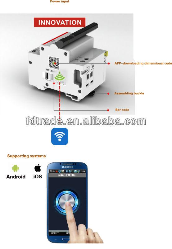 Fdr8 Wifi Circuit Breaker Smart Circuit Breaker Buy Wifi