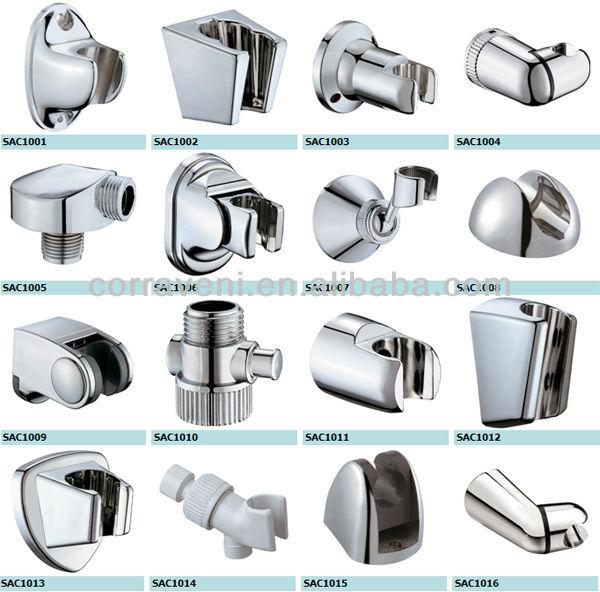bathroom accessory plastic hand shower head holder hook bracket sac1014