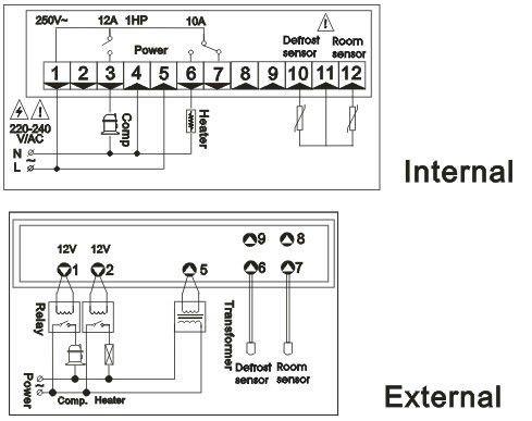 bryant defrost circuit board wiring diagram ranco defrost board wiring diagram #5