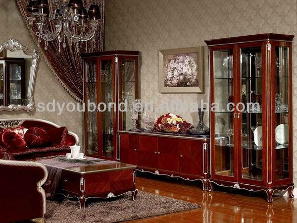 Salon Meubles Yb07 En Bois Antique Salon Plancher De L Armoire Buy