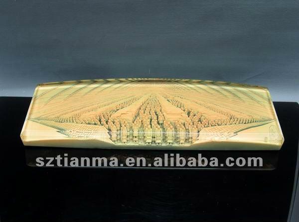 Shop Pure Acrylic Transparent Custom Block Lucite Paperweight     Alibaba
