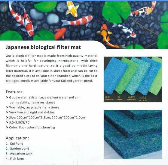 Filter material aquarium buy filter material aquarium for Fish pond filter material