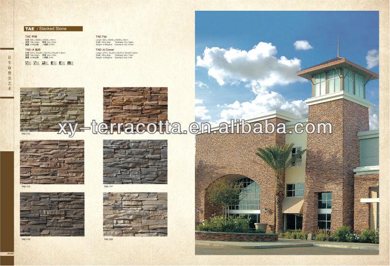 piedra artificial para la pared exterior y el interior imitacin piedra de la pared