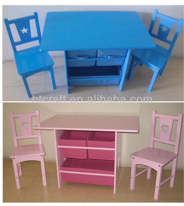 Ht003 en bois enfant tude table et chaise avec rangement buy table et chaise d 39 tude d 39 enfant - Table avec rangement chaise ...