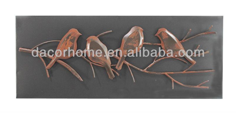 Metal rusty decorative bird wall plaque buy decorative bird plaque metal bi - Plaque murale decorative metal ...