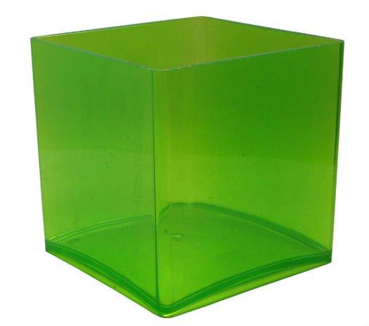 Black Cube Plastic Pot Vase Acrylic Cube Vase Buy Acrylic Cube Vase Plastic Vase Black Vase