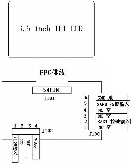 small image flip lcd screen video input buy small video lcd wiring diagram small image flip lcd screen video input