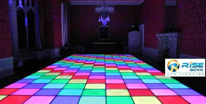 Dmx Interactive Led Floor Tiles