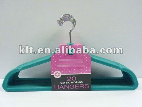 Cardboard Flocked Hangers Hang Tag - Buy Flocked Hangers Hang Tag ...