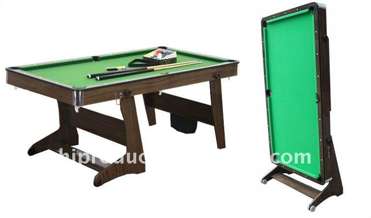 Best Ing Modern Design Foldable Pool Table Fold Up Leg Billiard Folding