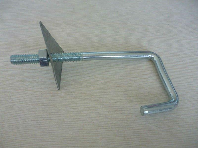 Zinc Plated Roofing Bolt J Bolt U Bolt J Anchor J Hook