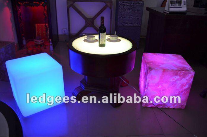 led living room furniture,led light up bar furniture table sets