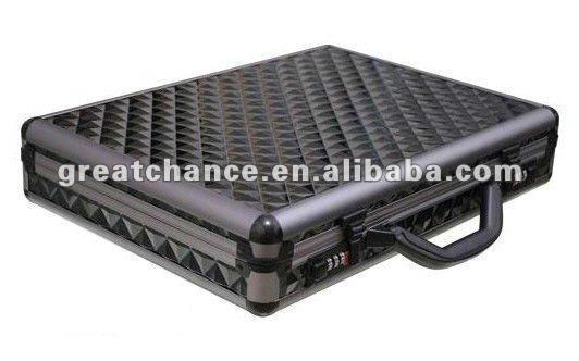 Brand New Black Aluminum Laptop Notebook Attache Hard Case ...