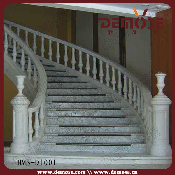 Anti Slip Green Marble Stairs