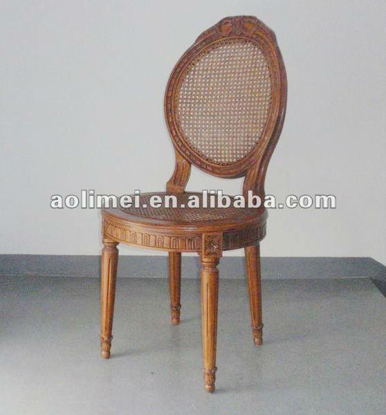 S lido madera de rat n silla de comedor mesa de comedor - Relleno para sillas ...