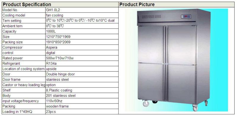 Great Commercial 4 Door Refrigerator And Freezer