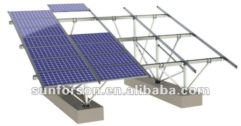 Solar Panel Roof Mount Kits(ground Installation Solution) - Buy Solar Panel  Roof Mount Kits,Ground Mount Solar Array,Solar Ground Mount System Product