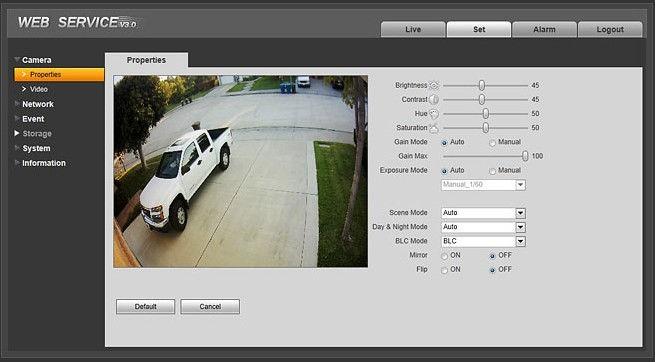 Dahua Auto Tracking High Speed Dome Ir Ptz Ip Camera Sd40212s-hn ...
