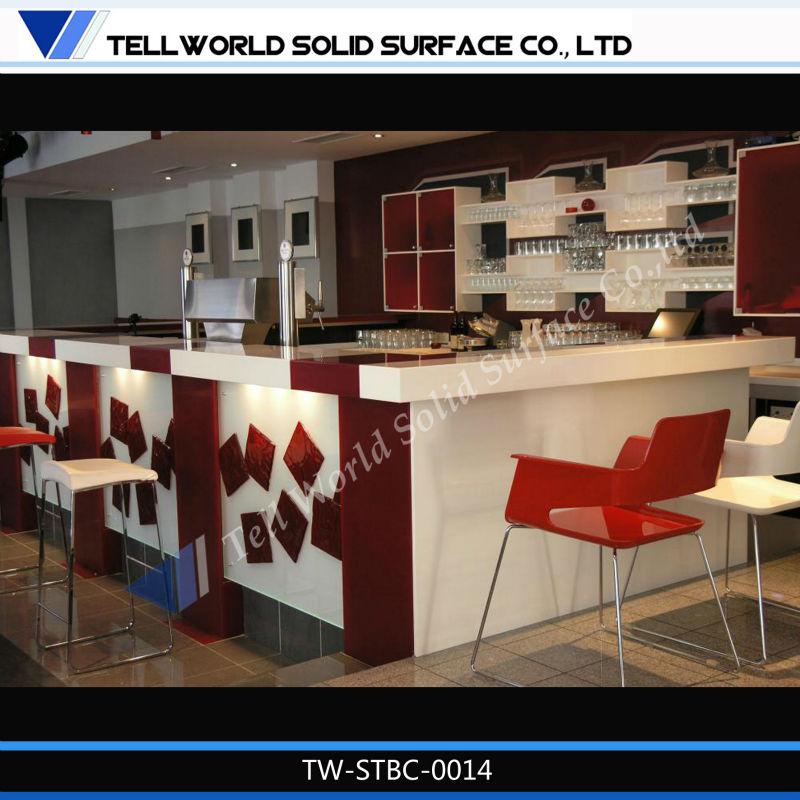 2013 Newest Design Bar Counter Materials Salad Counter Bar Table ...