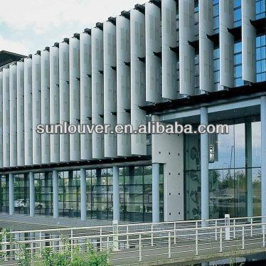 Dx-ac85-25v/90v/45v/66v Decoration Aluminum Louver Of Exterior ...