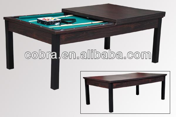 Billard et table a manger table moderne de salle a manger for Table de salon convertible en table de salle a manger
