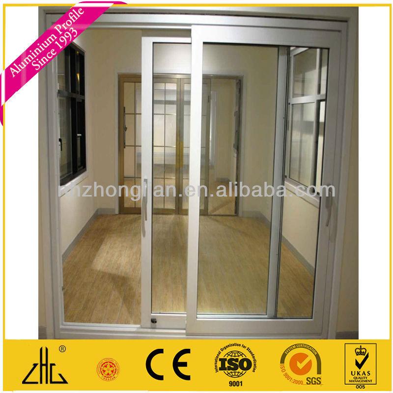 Perfil De Aluminio Para Puertas Correderas De Cristal Oem/perfil De ...