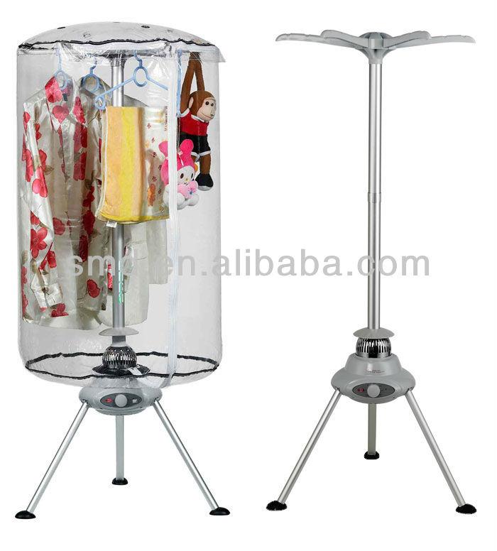 Portable Clothes Dryer ~ Smartmak smt portable tri pod electric hanging hot air