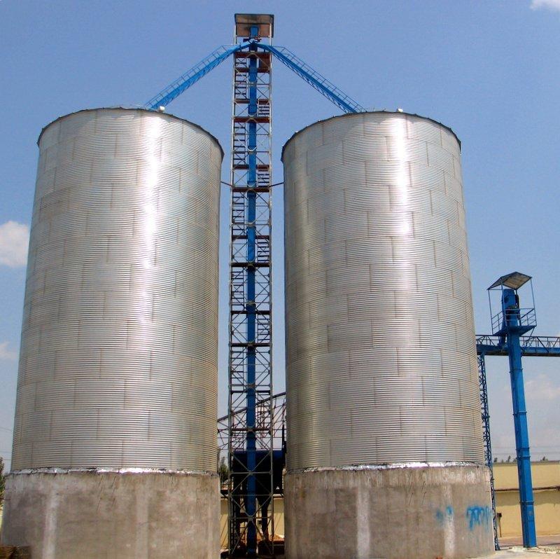 200 ton grain silos with conveyors buy steel silo for grain storage grain silos prices grain. Black Bedroom Furniture Sets. Home Design Ideas