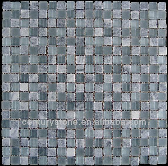 Neve White Glass Mosaic Small Square Iridescent Bathroom