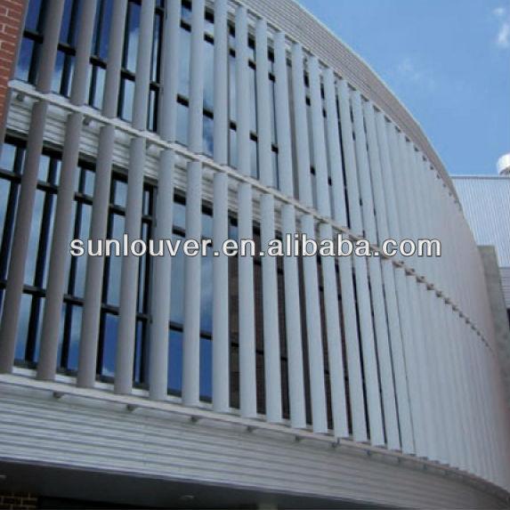 Dexone Building Sun Shade Aluminum Louvers Aluminium