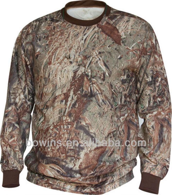 Wholesale custom men hunting camo t shirts buy camo t for Cheap bulk custom t shirts