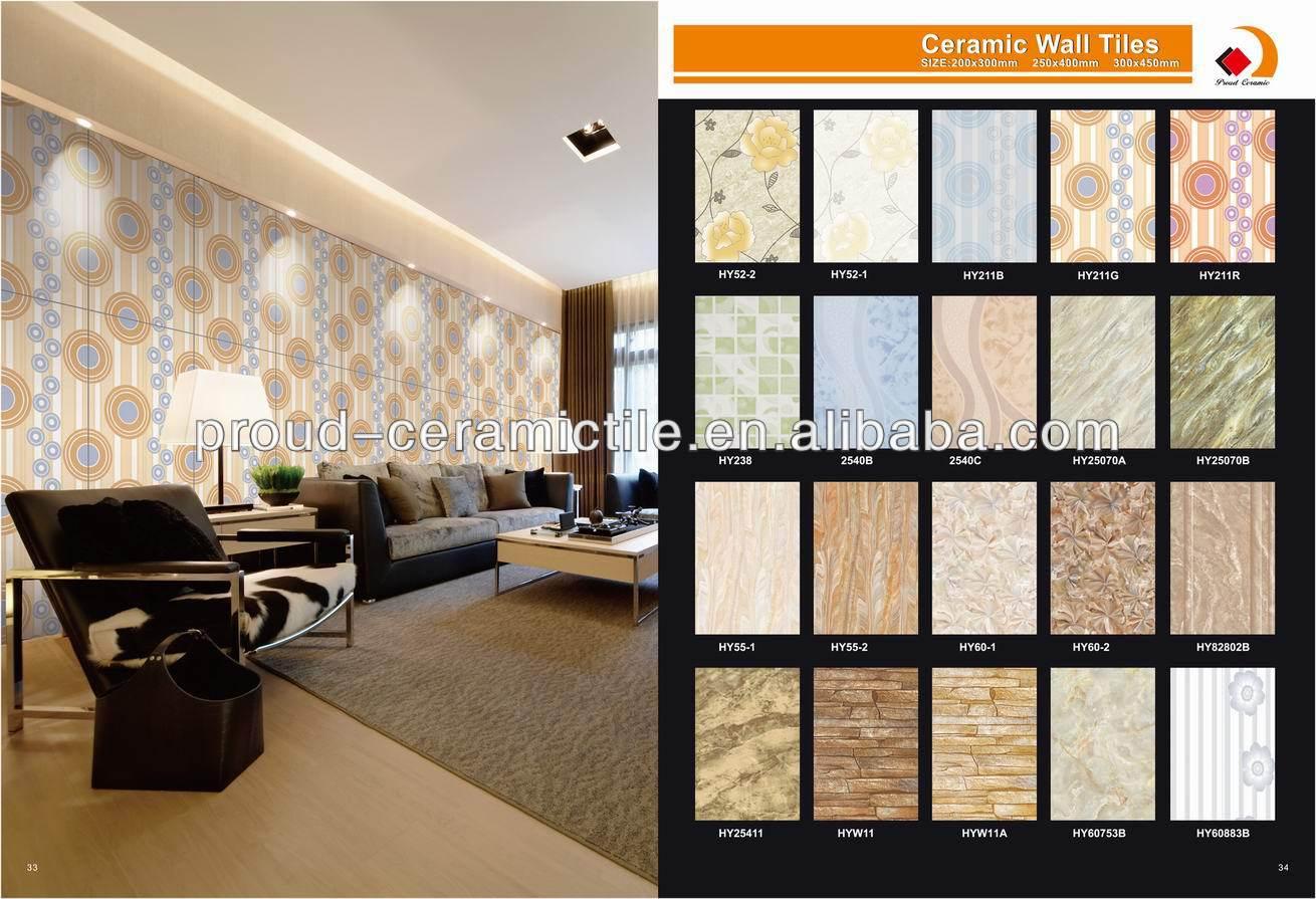 new design ceramic kitchen bathroom living room wall tiles 200x300 - Living Room Wall Tiles Design