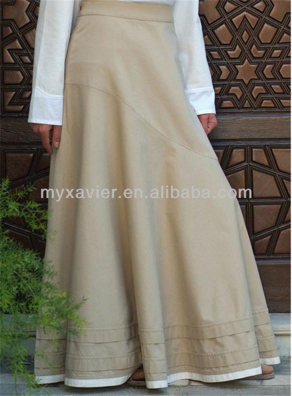 Full-length Asymmetrical Flared Long Skirt - Buy Long Skirt,Flared ...