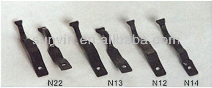 roller stick nip clip flat spring steel clips flat metal spring