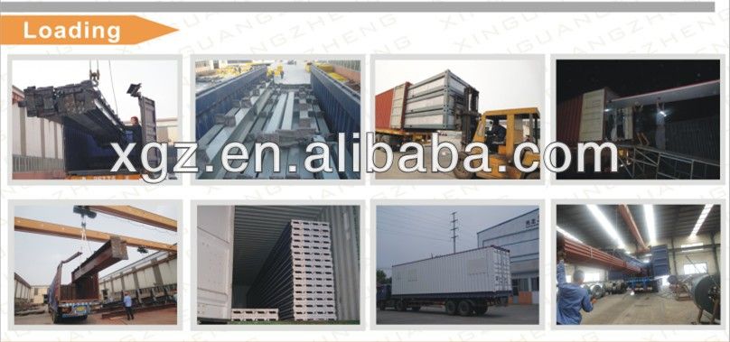 long span roofing materials portal steel frame roof futsal arena
