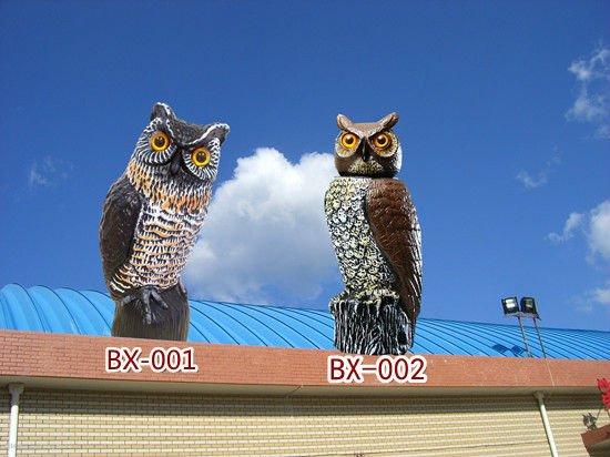 Garden Defense Owl With Rotating Head
