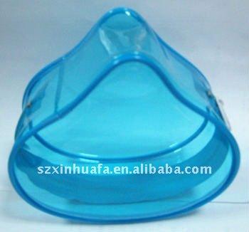 (XHF-PVC-033) mini heart shape PVC pouch