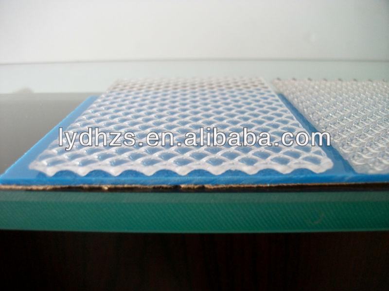 Rain Drop Pattern Acrylic Sheet Clear