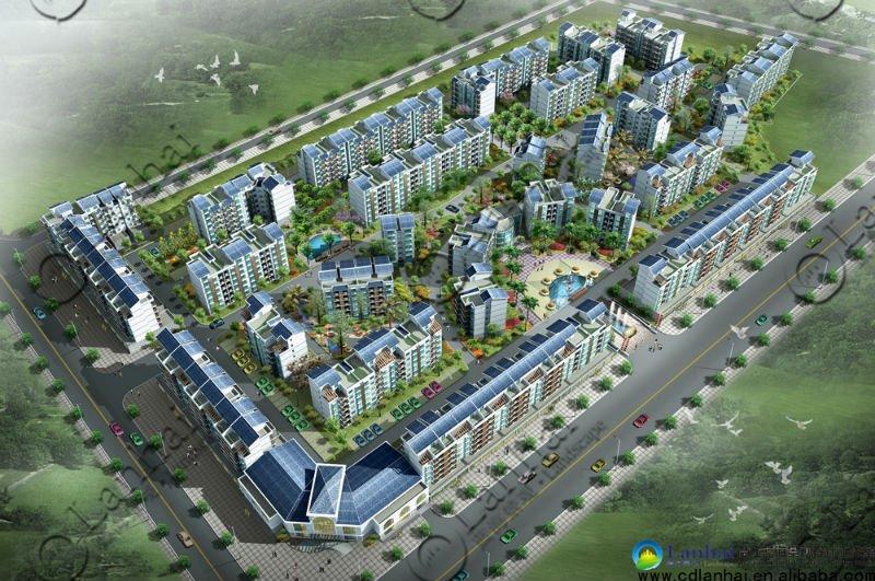 Community Planning 3d Outdoor Landscape Design