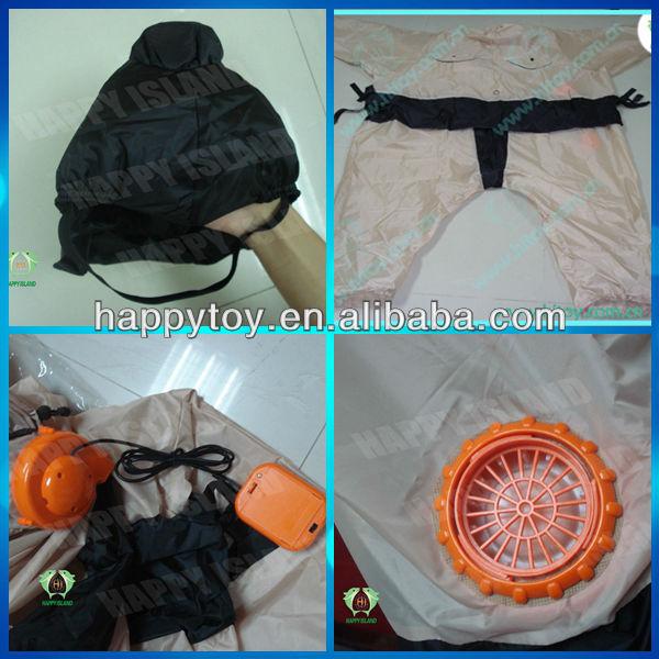 fan for inflatable costume. hi en71 fancy custom inflatable suit,inflatable ostrich costume,chub suit fan for costume