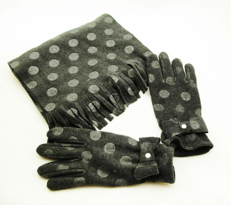fashion winter scarf gloves set wholesale buy